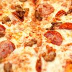 Пица със салам и кайма