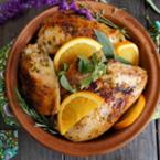 Пилешки бутчета с билки