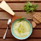 Картофена крем супа с рукола