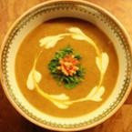 Крем супа с фъстъци