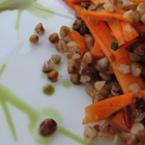 Салата от жито с моркови