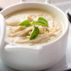 Крем супа от карфиол с пиле