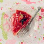 Торта брюле с ягоди