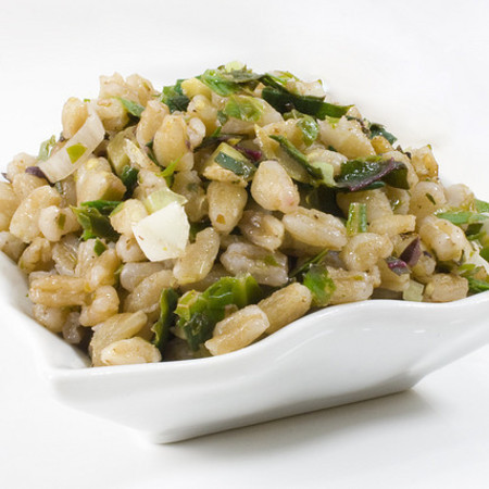 Large zhitna salata s rukola