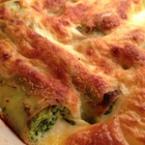 Канелони със сирене и спанак