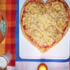 """Пица """"Сърце"""""""
