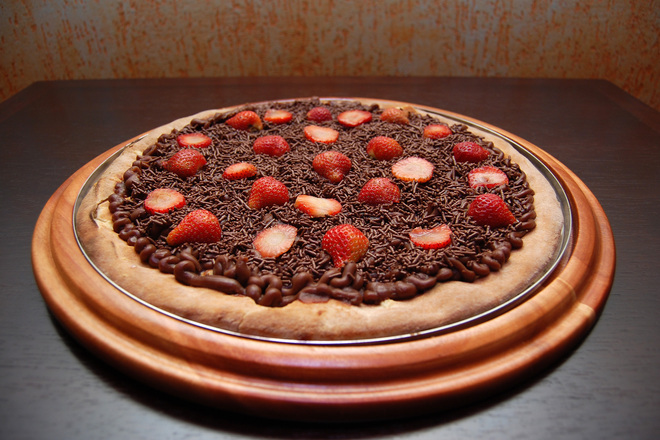 Шоколадова пица