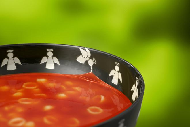 Доматена супа с макарони