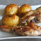 Заешко с картофи