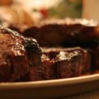 """Свински стек със сос """"Табаско"""""""