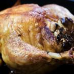 Печено пиле с мащерка