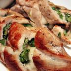 Пилешки рулца с аспержи