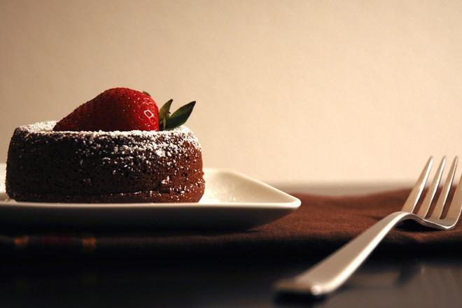 Шоколадово суфле за Свети Валентин