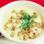 Чеснова супа с крутони