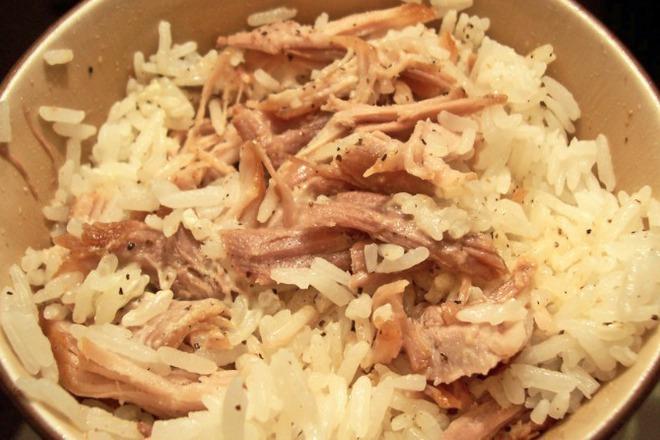 Свинско с ориз