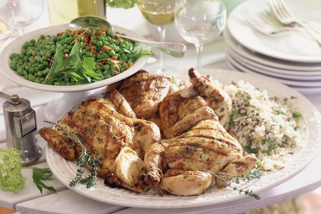 Пикантно пиле с лайм и чесън