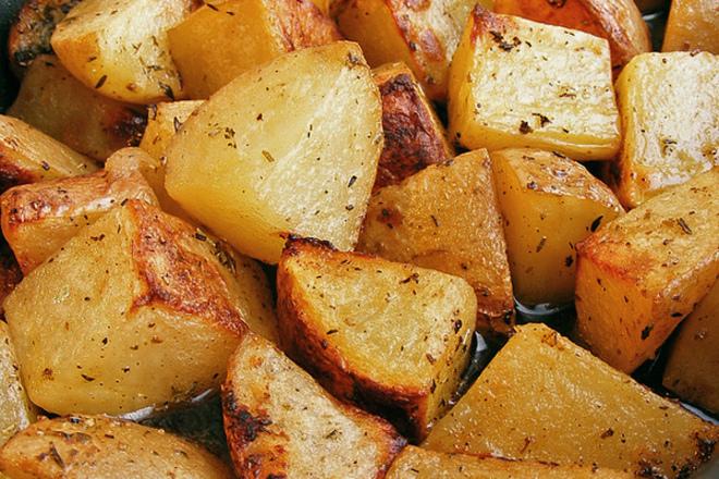 Варени пържени картофи