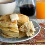 Пълнени палачинки с фъстъчено масло