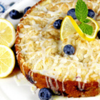 Лимонов сладкиш с боровинки