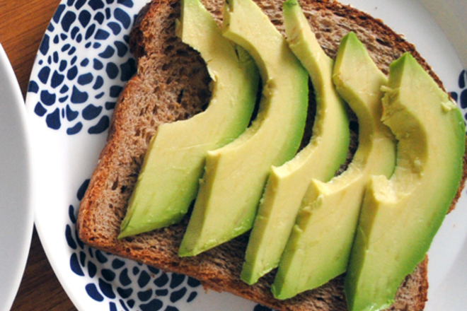 Авокадо сандвич