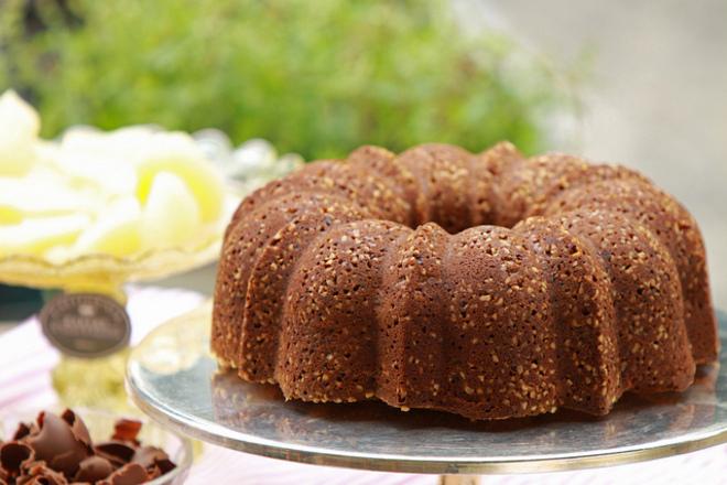 Шоколадов кекс с фъстъци