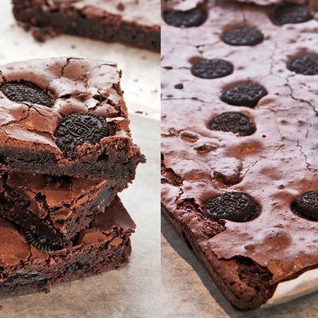 Large shokoladov sladkish s biskvitki