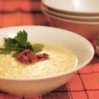 Крем супа от царевица с бекон
