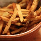 Пържени пресни картофи