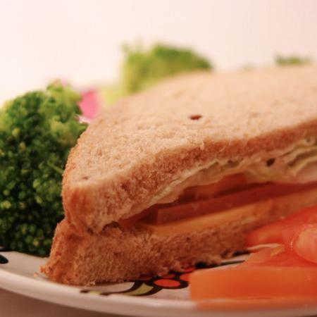 Large sandvich sas salam i aysberg