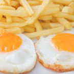 Пържени яйца на очи