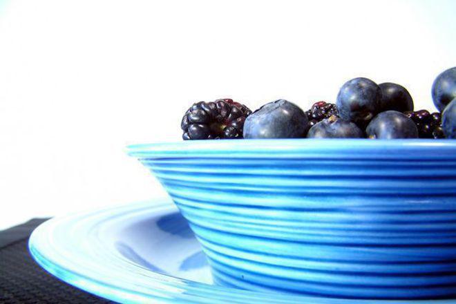 Плодова салата с боровинки
