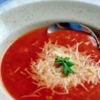 Доматена крем супа с пармезан