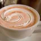 Кафе с мляко и карамел