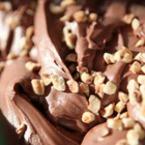 Шоколадов сладолед с фъстъци