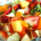 Плодова салата с мед