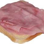 Бърз сандвич с шунка