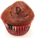 Шоколадови мъфини с парченца шоколад