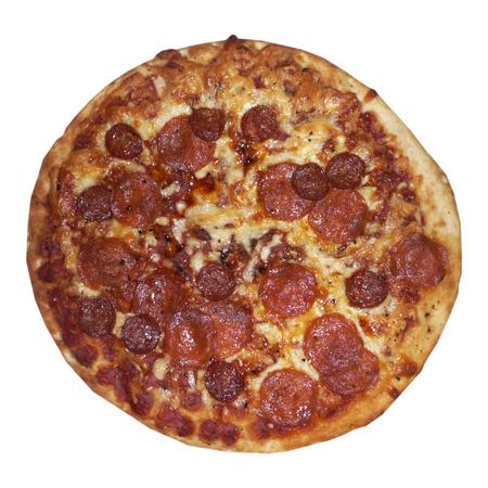 Large pitsa salami