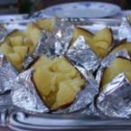 Печени картофи във фолио