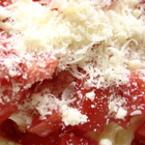 Салата от домати с пармезан