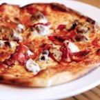 Вегетарианска пица с три вида сирена