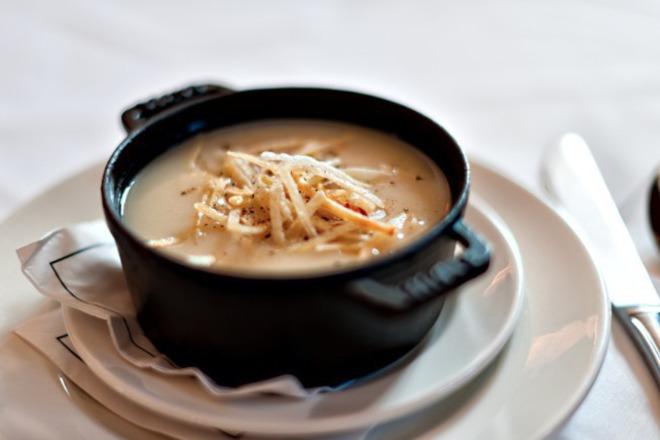 Крем супа от картофи и моркови