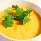 Крем супа от моркови с картофи и царевица