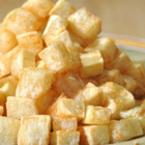Пържени картофени кубчета
