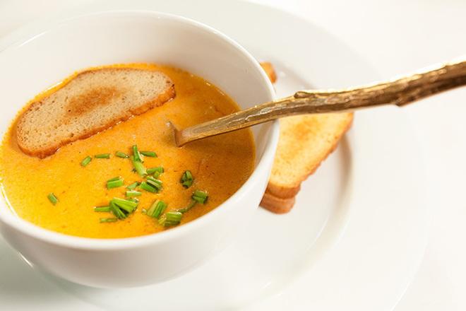 Крем супа от моркови с царевица