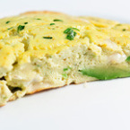 Яйца с авокадо на фурна