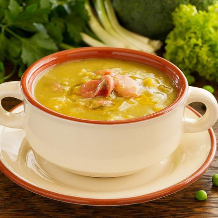 Large krem supa ot grah s tsarevitsa