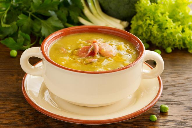 Крем супа от грах с царевица