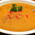 Крем супа от моркови с чушки