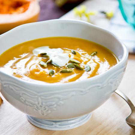 Large krem supa ot chervena leshta s kartofi